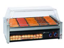 Food service roller grill